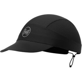 Buff Pack Run Cap R-Solid black